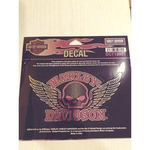 Harley Davidson Decal!